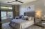 High ceilings, recessed lighting.
