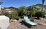 Extra deep backyard with mature landscaping.