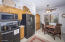 Really nice kitchen with Stainless appliances & breakfast room