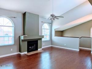 One lucky buyer is going to benefit from over $48k+ in upgrades! Great vaulted ceiling condo with no connected neighbors (only garages below) boasts REAL wood floors ($7k), ALL dual pane quality vinyl framed windows and sliding glass doors ($17k), tile and carpet in the bedrooms only. This home even has two automated blinds so you can block out unwanted light. NOTHING was done without quality in mind! How about a REAL laundry room with extra storage space in it? Lovely covered patio with slate flooring, stainless steel appliances (ALL included)-still under warranty (on 2 of them) ($5k+), newer garage door opener, keyless entry garage, epoxy countertops, upgraded baseboards,  window treatments including two custom sliding glass door panels, HUGE walk-in closet, roman tub & double sinks! See attached spreadsheet for details on timing and upgrade costs.
