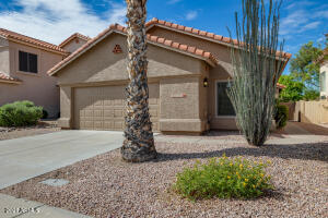 Nice desert landscaping and Brand new roof