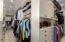 Gigantic closet space!