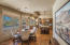 Casual Dining Area, family room and kitchen