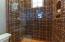 Guest Bath with gorgeous tile