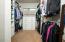 New custom closet.
