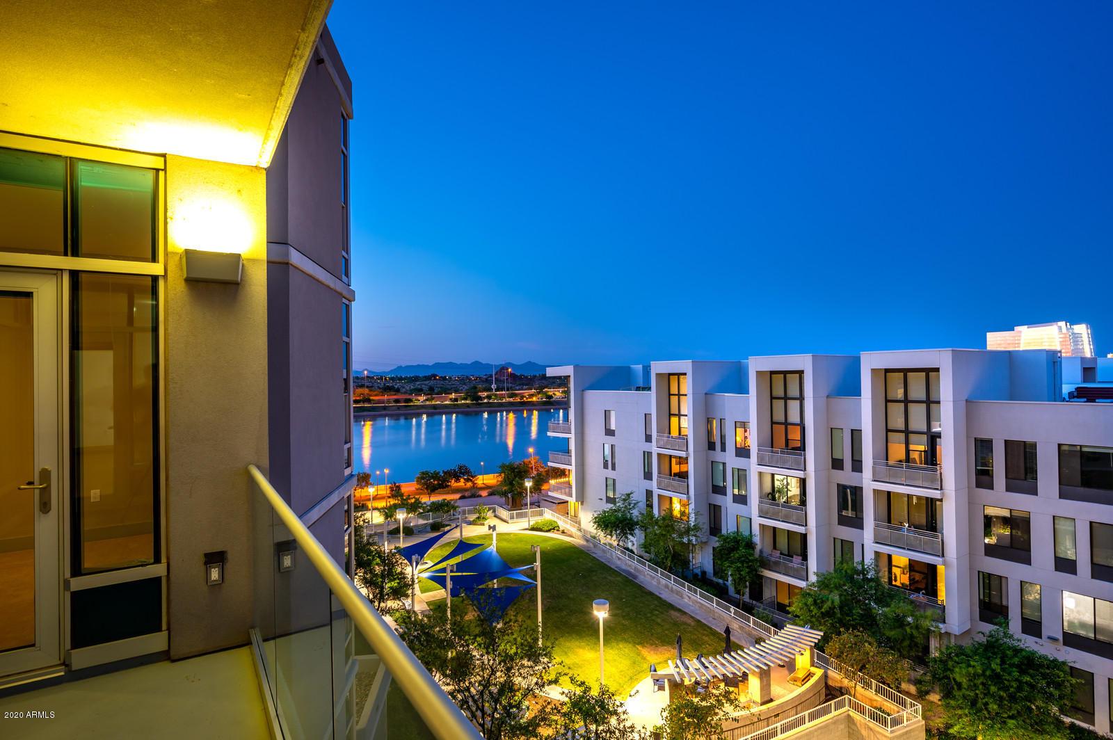 Stunning Night Views From Balcony