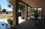 Full length covered patio