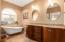 Owner's Bath with a Clawfoot Tub