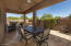 Tiled covered patio...great place to entertain