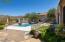 Breathtaking Mtn views! Travertine paver patios & fenced pet yard w/synthetic turf
