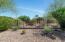 Backyard with wash view