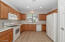 Kitchen will all the appliances
