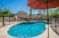 3-M ColorQuartz Crystal pool with removable mesh fencing