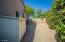4X6 shed in side yard