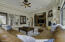 Great Room with custom built-in Entertainment Cabinetry