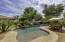 Gorgeous pool with large shallow area for children and adults to lounge