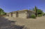 5-Car Garage with ample additional guest parking with RV Double Wide Gates in background for a Boat or RV