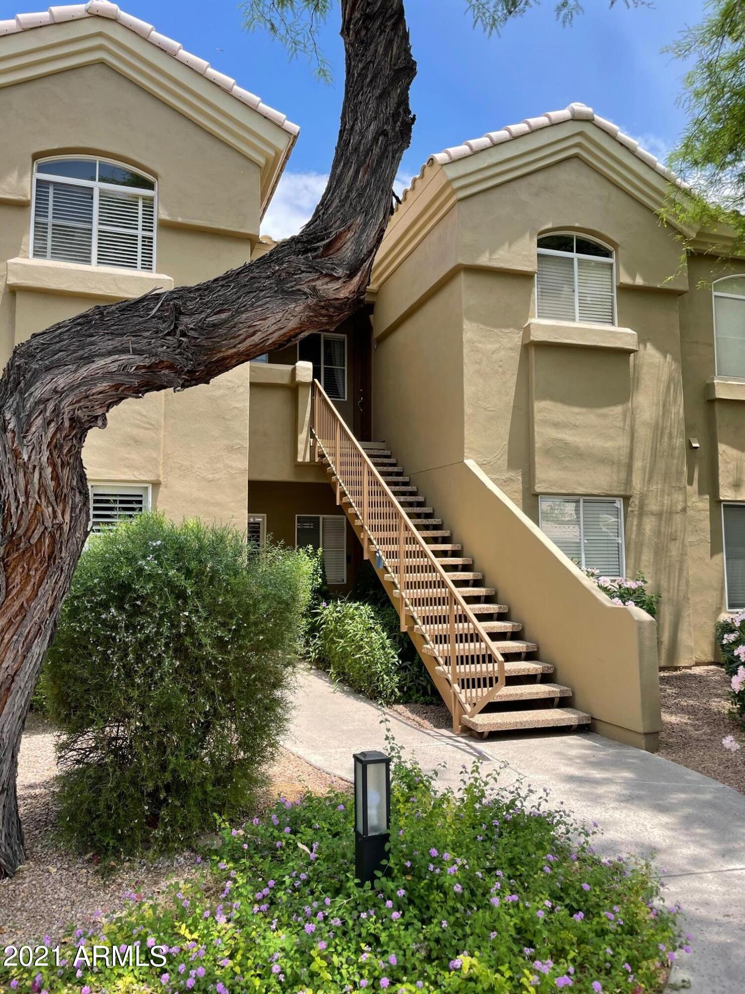 Come see this beautiful 2 bedroom, 2 bathroom condominium in the sought after community of Bella Terra.  The condo has a split floor plan, granite countertops, and has been recently painted.  Excellent community features with a heated pool, spa, clubhouse and exercise facilty.  This unit is ready for you!