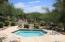 Community features heated pool & spa.