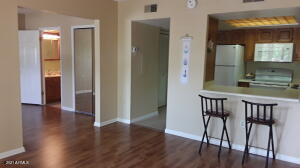 Lovely condo with partially open second bedroom. Great, usable modified floorplan!
