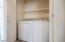 Linen Closet Next to Laundry Closet
