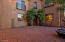 Beautiful entry/courtyard in front of home