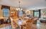 Formal dining room/living room