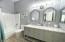 Upscale Guest Bathroom