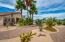 Backyard View, Low Maintenance Desert Landscaping.
