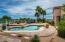 Pool View with Beautiful Custom Brick decking.