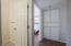 Hall to main bath, storage and bedroom