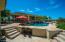 Gazebo in pool area