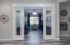 Double doors lead to the bonus room.