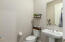 A powder room for guests!