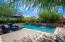 Relax in the saltwater pool.