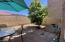 Large patio area is great for dining, a kids play area or pets.