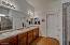 Dual Sinks | Huge Walk-In Closet