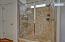 Walk-In Tile Shower | Private Toilet