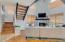 Freshly painted, laminate wood-plank flooring, wood-burning Fireplace.