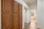 Storage in Hallway to other bedrooms