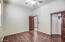 Laminate floor with nice sized closet