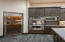Wine Refrigerator & Double Ovens