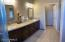 NOTE.. photos of different property Master bath with double sinks and private water closet