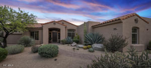 This single level home offers no interior steps and the desirable great room floor plan.