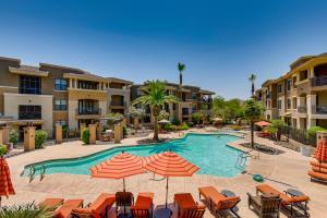 Here is your view from your corner patio. Resort style living!