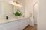 Hall Bath Double Vanity
