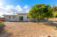 9000 sq. foot lot that has low maintenance landscaping front and back