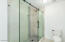 walk in shower with all new tile surround