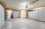 all new epoxy floors, work station area and extra storage cabinets