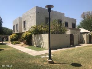 Front entrance/back yard